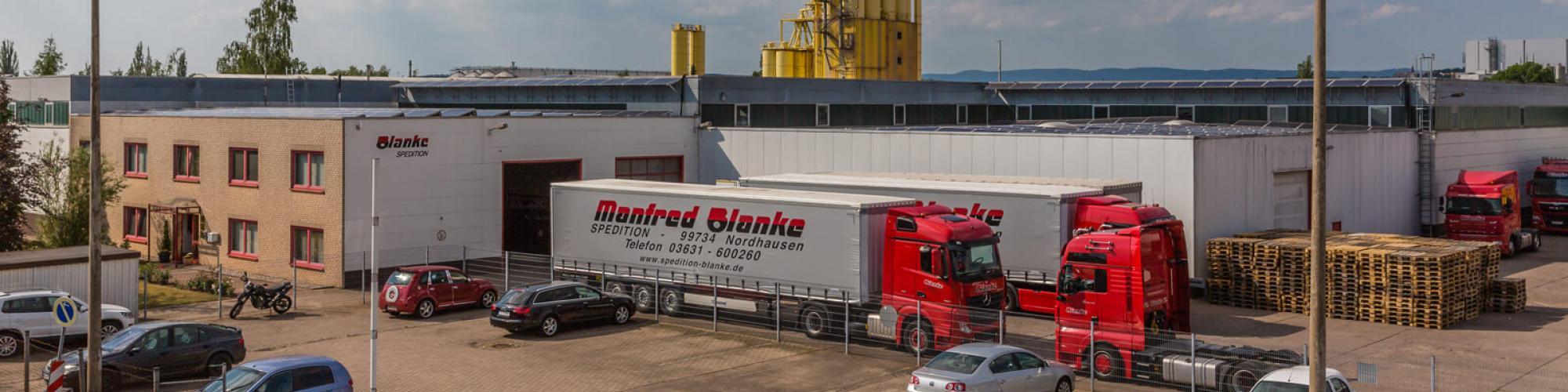 Blanke GmbH Spedition - Systemlogistik